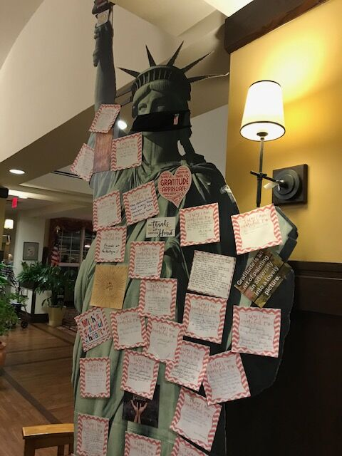A month of gratitude at the Heritage of Green Hills