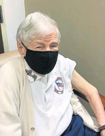 101-year-old first to get COVID-19 vaccine at the Heritage of Green Hills