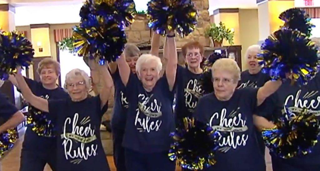 Women in Cumru senior community form cheerleading squad