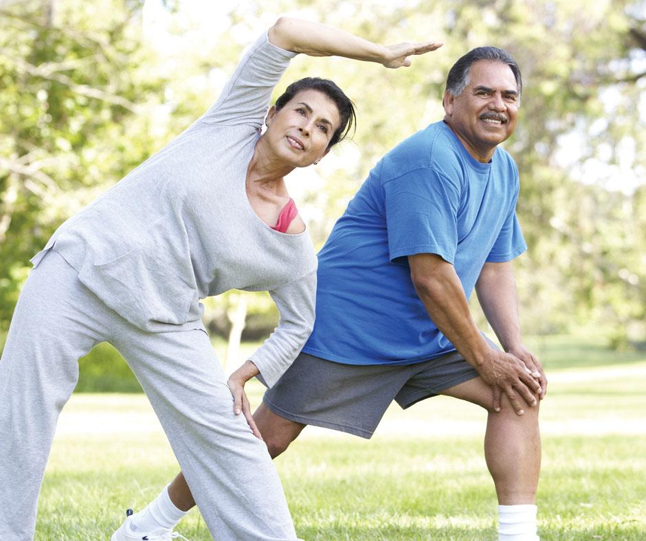 Exercising for Senior Living Residents