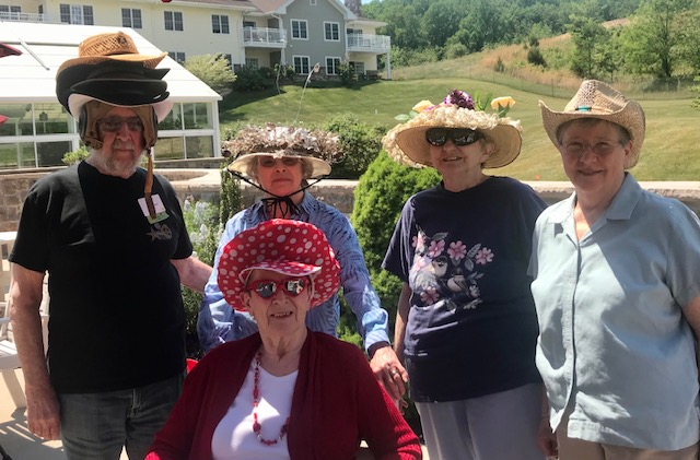 Heritage of Green Hills Throws Pop-up Mad Hatter Tea Party